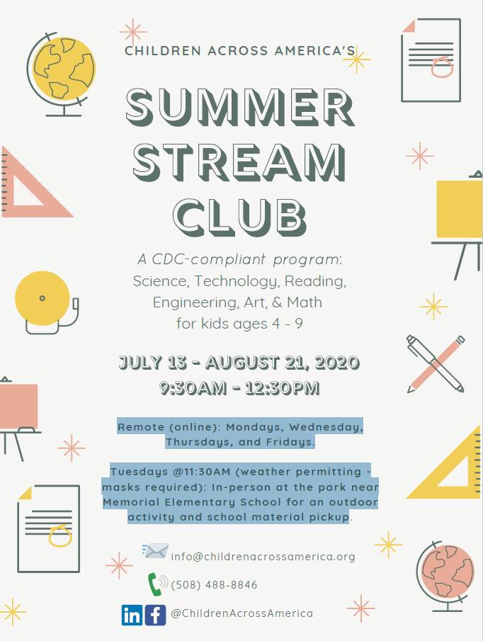 Summer STREAM Club